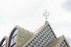 抽象房子屋顶  免版税库存图片