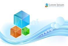 抽象手册业务设计 向量例证