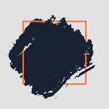 抽象手拉的背景 免版税库存图片