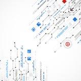 抽象技术企业模板背景 免版税图库摄影