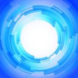 抽象技术盘旋向量背景 图库摄影