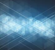 抽象技术背景事务&发展方向 免版税库存照片