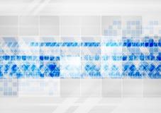 在灰色背景的五颜六色的技术元素 图库摄影
