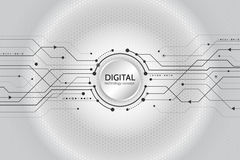 抽象技术通信概念 免版税图库摄影