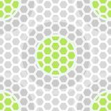 抽象技术绿色无缝的样式 免版税库存图片