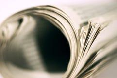 抽象报纸 免版税库存图片