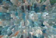 抽象挤压的3D背景 皇族释放例证