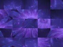 抽象数字式分数维形状正方形马赛克现代样式样式背景党欢乐纹理卡片 库存照片
