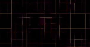 抽象数字式垂直和水平的电颜色多种族分界线背景,样式纹理 向量例证