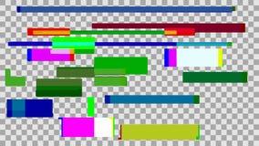 抽象数字式背景颜色小故障 技术设计和 库存例证