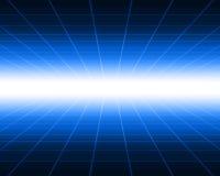抽象数字式隧道 免版税库存照片