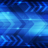 抽象数字技术概念背景,传染媒介例证 库存照片