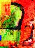 抽象数是1789 免版税库存照片