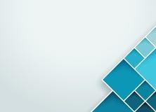 抽象方形的背景3 库存照片