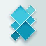 抽象方形的背景2 免版税库存照片