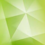 抽象方形的绿色软的淡色天波提取光 库存图片