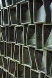 抽象方格的样式-内墙盘区-木头或水泥纹理-六角栅格-装饰修剪-连续的replicat 库存图片