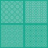 抽象无缝的传统阿拉伯样式 向量例证