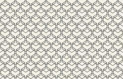 抽象无缝的几何墙纸样式 皇族释放例证