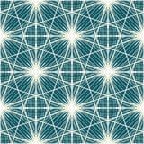 抽象无缝的几何手拉的样式 图库摄影