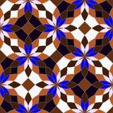 抽象无缝的几何样式 图库摄影