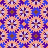 抽象无缝的几何样式 免版税库存照片