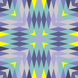 抽象无缝的几何样式 库存照片
