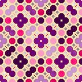 抽象无缝的几何样式 免版税库存图片