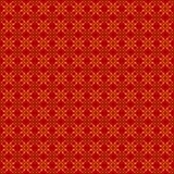 抽象无缝的几何花卉样式 库存照片