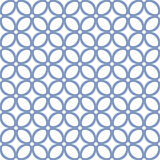 抽象无缝的几何阿拉伯样式 免版税库存照片