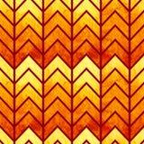 抽象无缝的几何水彩V形臂章 免版税图库摄影