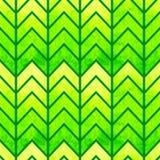 抽象无缝的几何水彩V形臂章 免版税库存照片