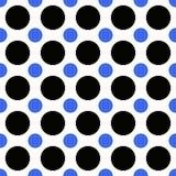 抽象无缝的圈子样式背景-导航例证 向量例证