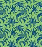 抽象无缝的有机样式 也corel凹道例证向量 免版税库存图片