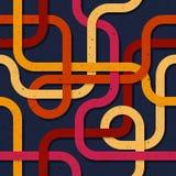 抽象无缝的样式003 库存照片