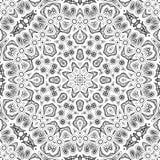 抽象无缝的概述样式 库存照片