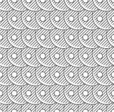 抽象无缝的模式 图库摄影