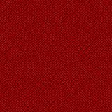 抽象无缝的红色迷宫样式 库存例证