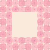抽象无缝的背景锦砖样式框架 免版税图库摄影