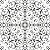 抽象无缝的花卉背景 向量例证