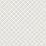 抽象无缝的装饰几何轻的金子&白色样式 免版税库存照片