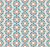 抽象无缝的装饰品样式 r 库存例证