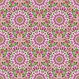 抽象无缝的颜色几何传染媒介样式 库存图片