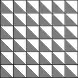 抽象无缝的黑白样式-传染媒介例证 皇族释放例证