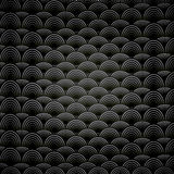 抽象无缝的黑白背景 免版税库存照片