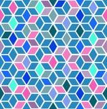 抽象立方体 皇族释放例证