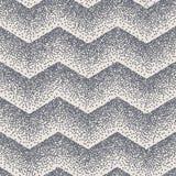 抽象无缝的V形臂章之字形点刻法小点 10 eps 向量例证