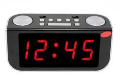 抽象时钟数字式电子 库存照片
