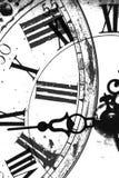 抽象时钟 库存照片