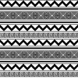 抽象明亮的几何样式 库存图片